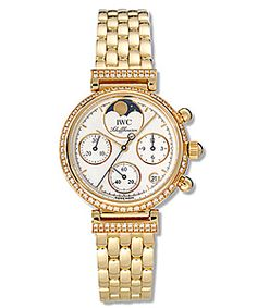 @Overstock - Elegant IWC Da Vinci timepiece features an 18-karat yellow gold case This stylish luxury watch is the perfect accessory to any outfit Fashionable and durable women's watch also features a white dialhttp://www.overstock.com/Jewelry-Watches/IWC-Da-Vinci-Womens-18k-Yellow-Gold-Quartz-Watch/2920717/product.html?CID=214117 EUR 20567.44