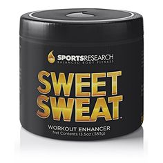 Sweet Sweat Skin Cream, 13.5 Ounce Jar Sports Research