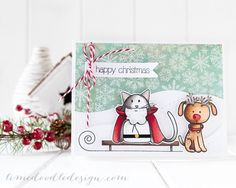 How creative and Fun is this card created by Debby Hughes for the Simon Says Stamp Blog using SSS exclusives in a creative way!