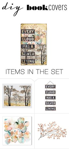 """Unbenannt #78"" by melli-lehrbaum ❤ liked on Polyvore featuring art and diybookcover"