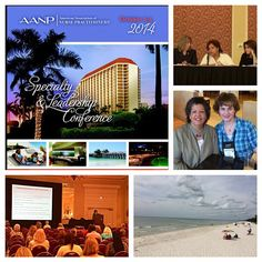 Learning nurse practitioner business tips in Naples, Florida at the American Association of Nurse Practitioners' (AANP) Specialty Conference.