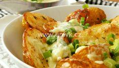 Brambory se dvěma druhy hub na kyselo – U Miládky v kuchyni Baked Potato, Potato Salad, Cauliflower, Potatoes, Meat, Chicken, Baking, Vegetables, Ethnic Recipes
