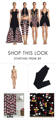 """Fashion Collection"" by coppin-s ❤ liked on Polyvore featuring ViX, Wolford and Disney"