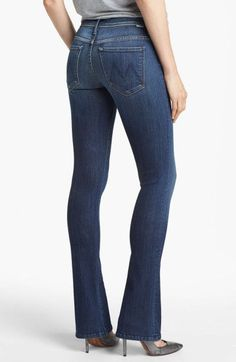6da60ff87334 Details about $196 MOTHER Denim The Daydreamer Skinny Flare in Tempted  Again Size 28 x 34