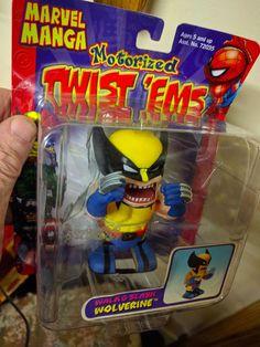 Marvel Manga motorised.Twist  Ems.Unopened.Walk and Slash.Wolverine.Item 72028