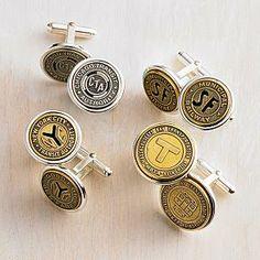 transit token cuff links