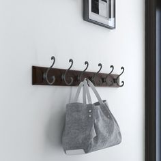 Canora Grey Scroll hook rail is a versatile organization piece for your home. This decorative hook rail has six coat and hat hooks that feature a decorative scroll design. Use it to organize your bookbags, scarves, purses, coats, keys and more. Hat Hooks, Hook Rack, Decorative Hooks, Wall Mounted Coat Rack, Wall Anchors, Scroll Design, Rectangle Shape, Traditional Design, 3 D