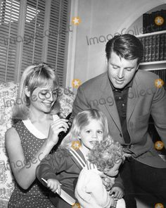 Rick Nelson  with Kristin Harmon-Nelson and their daughter Tracy         with Kristin Harmon with Tracy nelson photo by smp-globe Photos, Inc.