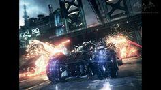 Arkham Knight Batmobile