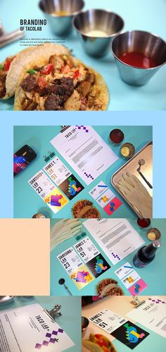 Taco-Lab : Experiment your tasty taco! on Behance
