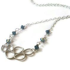 bubble pendant necklace matte silver bubble pendant by jcudesigns, £8.50