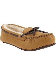 Women's Sueded Moccasins   Old Navy