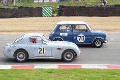 classic mini racing #MINI #MiniCooper #Rvinyl ============================= http://www.rvinyl.com/MINI-Accessories.html