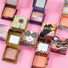 🚨FLASH DEAL! 🚨Get our iconic box o' powder blushes for 25% off today only at benefitcosmetics.com! #benefit