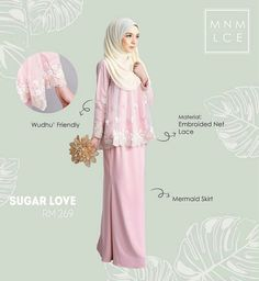 Sugar love..Love,love,love @minimalace Slightly longer hijab would be better