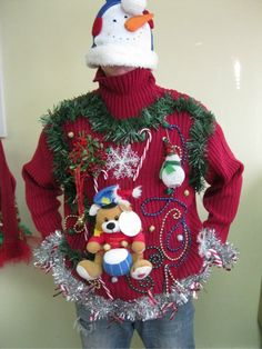 No more Christmas sweaters, please!