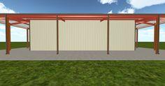 3D #architecture via @themuellerinc http://ift.tt/2sjEo7W #barn #workshop #greenhouse #garage #DIY