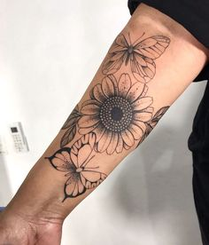 Leg Tattoos Women, Tattoos For Women Half Sleeve, Girl Arm Tattoos, Shoulder Tattoos For Women, Body Art Tattoos, Forarm Tattoos, Forearm Sleeve Tattoos, Inner Forearm Tattoo, Dope Tattoos
