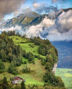 Meiringen, Courtesy of @davidbirri Find us on Facebook, link in our bio #Switzerland_Vacations