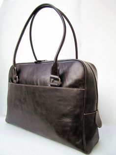 London. Grayish Brown Oversized Shoulder / Tote / by farragobags2, $172.00