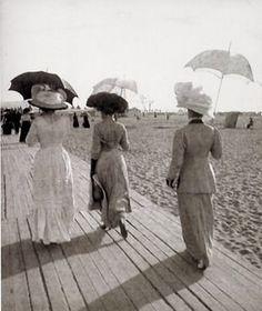 France, Basse-Normandie, les planches de Deauville,