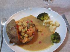 A B C vos IG: Patates douces aux fruits de mer (IG bas)