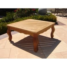 Found it at Wayfair - Teakwood Hyde Park Coffee Table Patio Bar, Patio Table, Bar Height Table, Hyde Park, Outdoor Furniture, Outdoor Decor, Outdoor Living, Living Spaces, Relax