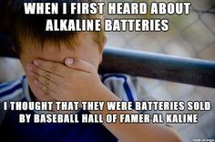 TBF I was a baseball-crazed kid and we only used crappy flashlight batteries until the late 70s