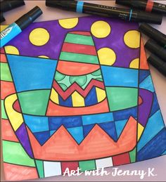 Art projects for kids to create during Cinco de Mayo. Great classroom art activities. Each one is easy for the teacher and fun for the students!