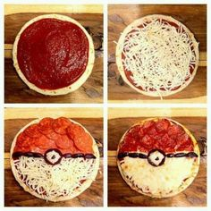 Pokeball Pokemon Pizza Idea - You saved to BEST of Frugal Coupon Living Are you a fan of Pokemon Go? Take a look at these Pokemon Party Ideas for the biggest fan in your home on Frugal Coupon Living.... gotta catch them all! Boy party ideas.