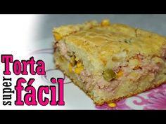 Receita: Torta salgada de liquidificador - YouTube