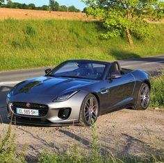 Jaguar F-Type R Dynamics - just enjoy on the french country road   #jaguar#jaguarftype #ftyper #ftype #carlifestyle #cargram #cars #carstagram #carinstagram #amazing_cars #carsofinstagram#carrental #supercar #convertible #carporn #carswithoutlimits #bmwm4 #bmwm6#picoftheday #sportcar @theftypefans