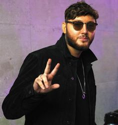 """James Arthur is spotted wearing the Insignia Curb Necklace and Mantz Necklace whilst promoting his new single """"Can I Be Him"""" for a televised performance on British TV show """"The One Show"""" as well as an interview with Jack and Conor Maynard on British radio station Capital FM. #MensFashion"""