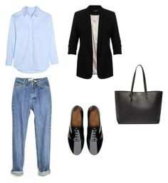 """""""tomboy"""" by dalma-pothorszki ❤ liked on Polyvore featuring FitFlop, Equipment, Yves Saint Laurent and Miss Selfridge"""