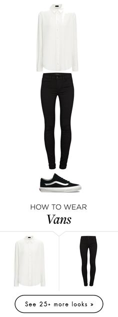 """""""Untitled #118"""" by zasad on Polyvore featuring J Brand and Vans"""