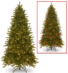 Sheridan Spruce Memory-Shape® Tree with PowerConnect™ and Dual Color® LED Lights