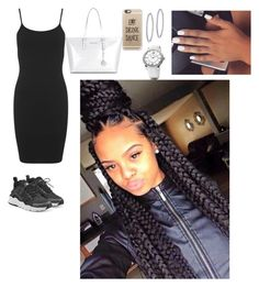 """""""Untitled #225"""" by queen-ayanna on Polyvore featuring Miss Selfridge, NIKE, Michael Kors, Casetify, BillyTheTree and David Yurman"""