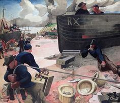 IN FOCUS: EDWARD BURRA - A RYE VIEW