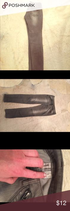 Mango grey  jeans size 8 Grey jeans , good condition Mango Jeans Straight Leg