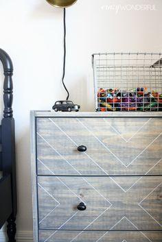 Crazy Wonderful: sam's nightstands | ikea rast hack