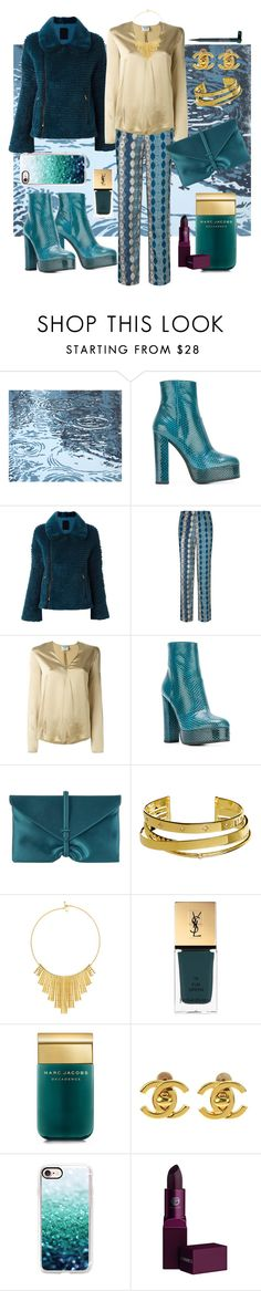 """70's"" by i-rusche on Polyvore featuring Roberto Cavalli, Liska, Laura Manara, Forte Forte, VBH, Elizabeth and James, BERRICLE, Yves Saint Laurent, Marc Jacobs and Chanel"