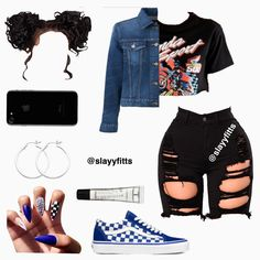 baddie outfits for school Swag Outfits For Girls, Teenage Girl Outfits, Cute Swag Outfits, Teenager Outfits, Teen Fashion Outfits, Trendy Outfits, Baddie Outfits Casual, Casual Dresses, Looks Plus Size