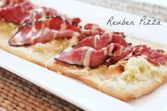 Love this! Reuben Pizza by @createdbydiane