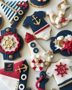 10 Perfect Themes for a Baby Shower – Voyage Afield Fondant Cookies, Iced Cookies, Fun Cookies, Cupcake Cookies, Cookie Favors, Flower Cookies, Heart Cookies, Et Wallpaper, Sailor Birthday