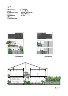 Gallery of Terrace House Renovation / Design Atelier - 1 Terrace House Renovation,Elevation Terrace Design, Facade Design, House Design, Terraced House, New Housing Developments, Facade House, Courtyard House, House Roof, New Home Designs