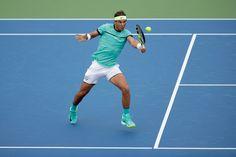 Rafael Nadal n'a pas tremblé pour son premier match dans le Masters 1000 de Cincinnati, dominant Pablo Cuevas en deux manches (6-1, 7-6[4]).