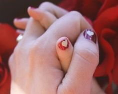 Celebrate Valentines Day with a cute - at home mommy-daughter manicure