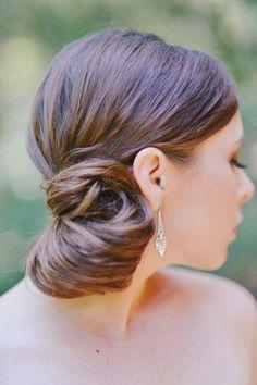 wedding hairstyle; photo: Rebekah Westover