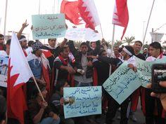 Manifestaciones en Bahréin, 22 de febrero de 2011. © AI