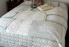 lace doily quilt - Google Search